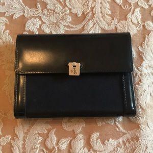 NWT Ralph Lauren Black Leather Wallet